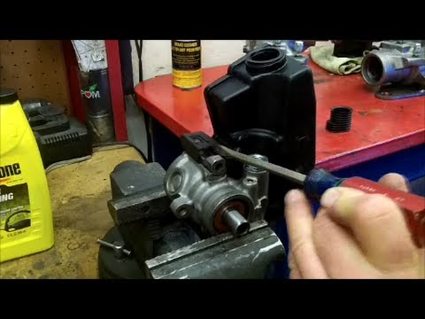 How to Remove & Replace Power Steering Reservoir on a Jeep Cherokee & Wrangler
