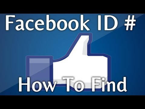 How to Find My Facebook ID: Numerical ID