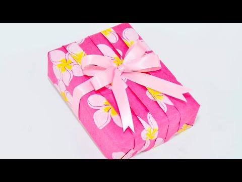 Japanese Pleats Gift Wrapping ~Basic Pleating Design~