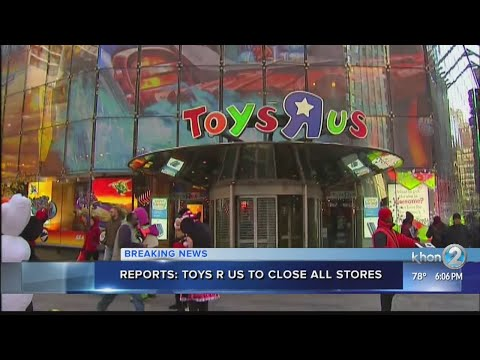 Toys R Us to sell, close all US stores including Hawaii