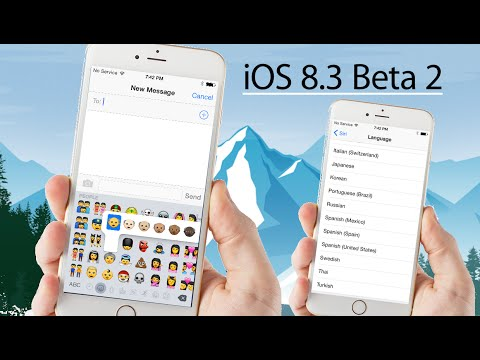 iOS 8.3 Beta 2 New Emojis & more