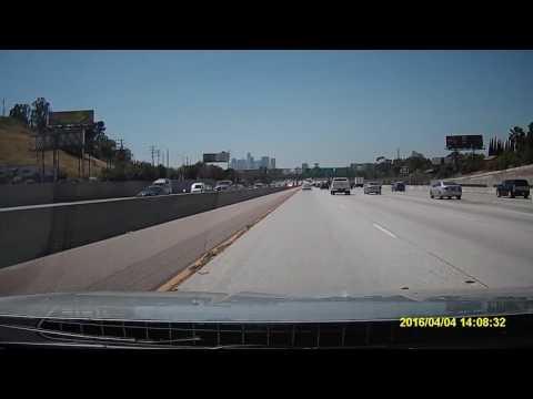 Driving from Los Angeles to Santa Barbara via US-101