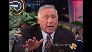 MEL BROOKS & CARL REINER have FUN with LENO