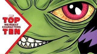 Marvel's Top 10 Weirdest Characters