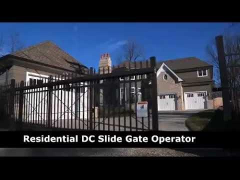 LiftMaster RSL12V Slide Gate Operator with Battery Backup