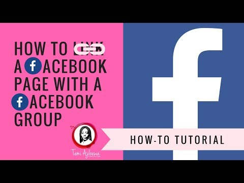 How Link A Facebook Page With A Facebook Group + How to Tag New Members