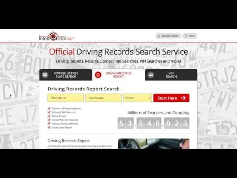 How To Get Your Illinois Driving Record