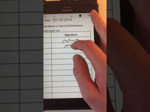 How to annotate a PDF on Android Samsung Galaxy Tab Active