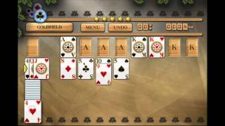 How To Play Goldfield Solitaire - Pandora's Solitaire Collection (Old video, download new version)