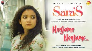 Sara's | Nenjame Nenjame|Jude Anthany Joseph|Shaan Rahman|Vineeth Sreenivasan|Gowry Lekshmi|Joe Paul