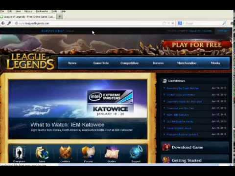 League of Legends How to change password