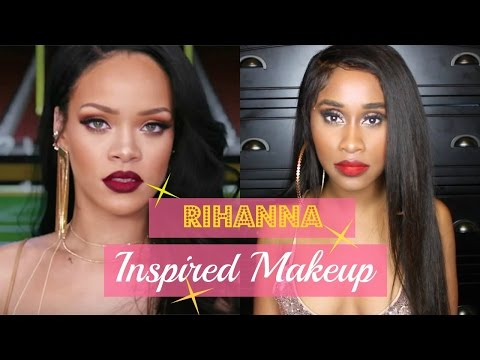 GRWM   Rihanna Inspired Makeup Using Naked Palette 3   Nae and Nea