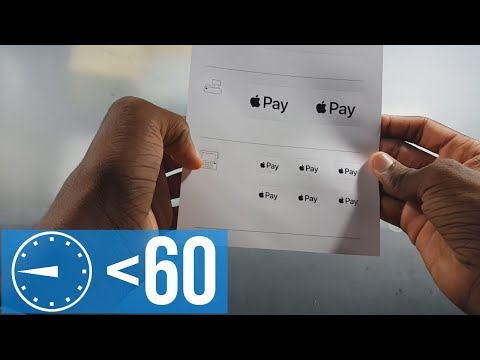 Apple Pay Decal Form Review in Under :60
