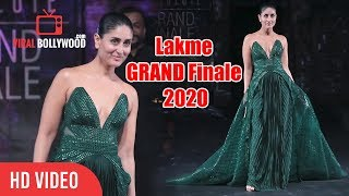 No one Does it like queen Kareena Kapoor Khan Tonight at Lakme GRAND Finale 2020