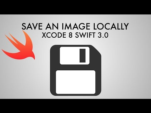 How To Save An Image Locally In Xcode 8 (Swift 3.0)