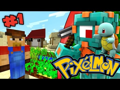 THE ADVENTURE BEGINS! | Pixelmon Survival Episode 1!
