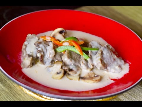 HOW TO MAKE LENGUA IN CREAMY WHITE SAUCE