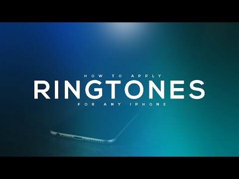 How TO SET Ringtone in Iphone with itunes and without jailbreak for free easy method 2017 HD