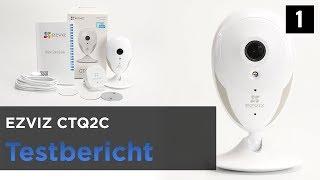 EZVIZ CTQ6C 1080P Wireless Security Camera Unboxing and Test