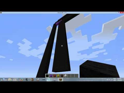 Minecraft pixel art how to build Gameboy Colour Pt.2