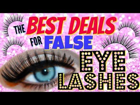 WHERE TO BUY FALSE EYELASHES CHEAP!! - MONEY SAVING MONDAY