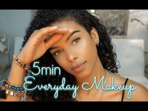 Minimal Everyday Makeup in 5 minutes!