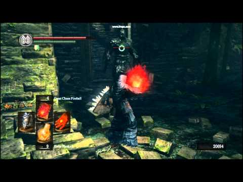 Dark Souls Pyromancy Great Chaos Fireball