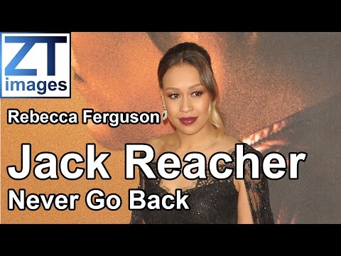 Rebecca Ferguson at the film premiere Jack Reacher: Never Go Back in London, UK.