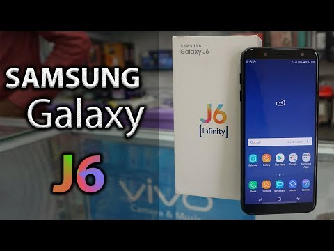 Samsung Galaxy J6 2018 Unboxing Review