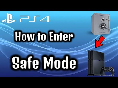 Ps4 How to Enter Safe Mode