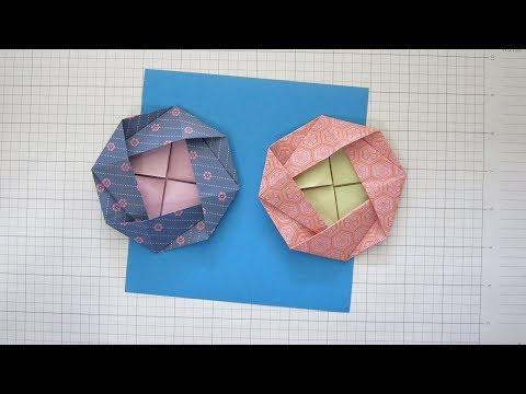 HOW TO FOLD AN ORIGAMI FLOWER - CAMELLIA