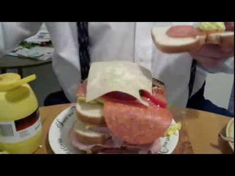 How to make a Dagwood Sandwich