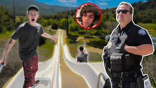 THEY CALLED THE COPS ON US! Ft. Justin Bieber