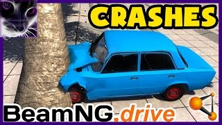 Another awesome compilation of Lada 2101 crashes and destruction. Enjoy watching this old junk getting smashed into pieces and crushed :)  NOTE (Edited): I thought this was my last BeamNG video as at the time game was really broken, so that every time there was update (and at the time there were small updates every 2-3 days that didn