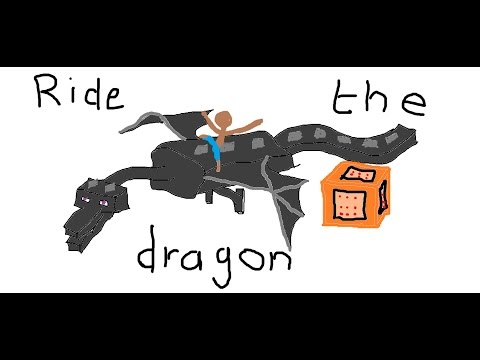 How to tame a dragon in Minecraft 1.11 - Command Block Creation