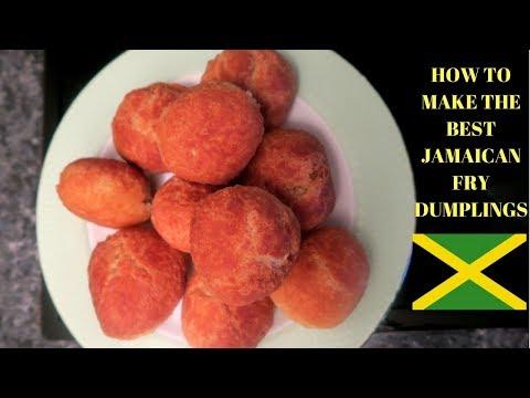 HOW TO MAKE JAMAICAN FRIED DUMPLINGS | THE BEST AND EASIEST JAMAICAN FRY DUMPLINGS