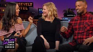 Zoe Saldana, Kirsten Dunst & Jamie Foxx Have Kid Problems