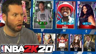 NBA 2K20 Custom Card Draft 2