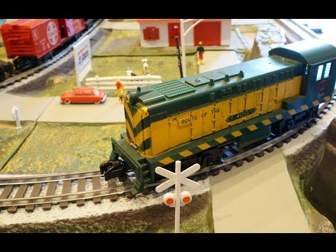 Gilbert American Flyer All Aboard Westerner 1200 Train Set Demo