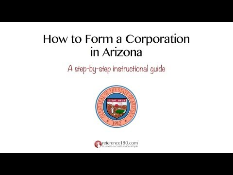 How to Incorporate in Arizona
