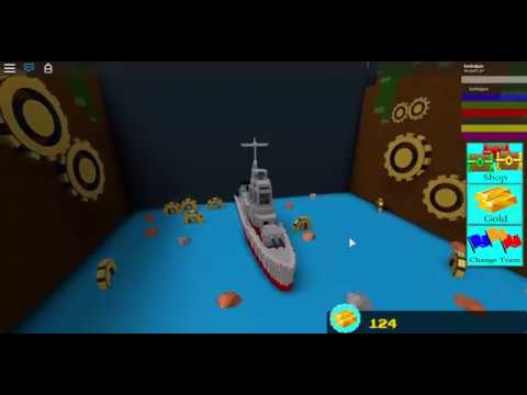 Shimakaze-Class Destroyer | Roblox Build A Boat For Treasure