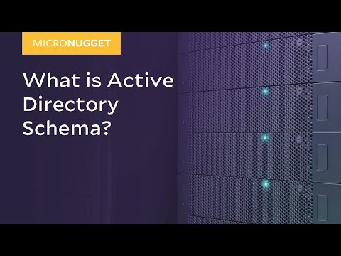 MicroNugget: Active Directory Schema