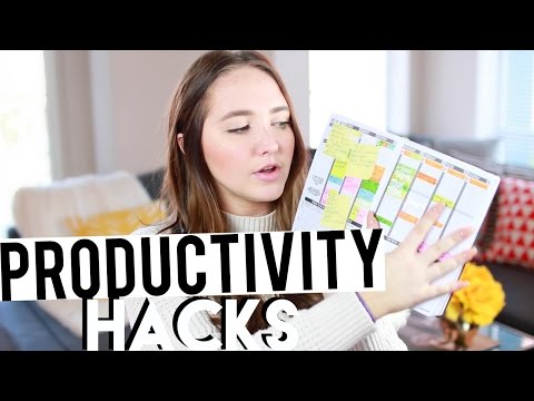 How To Have a Productive Year! Planner Tips, Organization, Personal Goals, Etc | Kenzie Elizabeth
