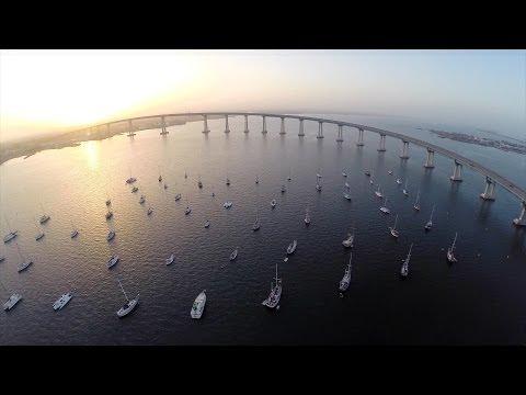 San Diego Aerial Video - Coronado, Balboa Park, La Jolla - DJI Phantom 2 Zenmuse h3-3d
