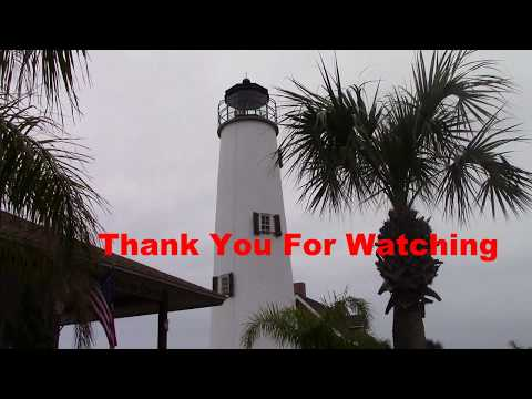 Visited St George Island Lighthouse  in our Class B RV