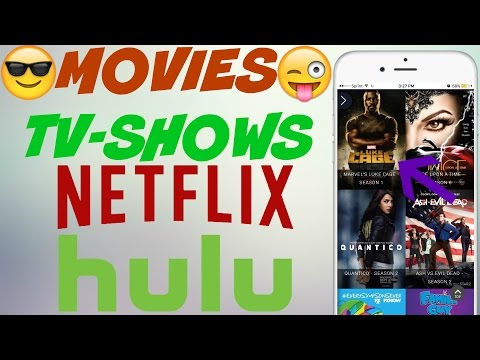 FREE NETFLIX AND HULU ORIGINALS AND FREE MOVIES/TV SHOWS ON IOS IOS! NO JAILBREAK/NO PC
