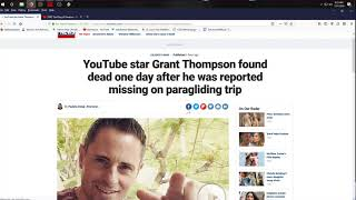 Download Grant Thompson - King of Random has passed away in a paragliding accident Video