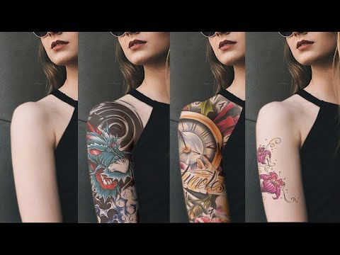 How to Add Tattoo to a Person Arm in Photoshop - Applying Realistic Tattoos on the Body