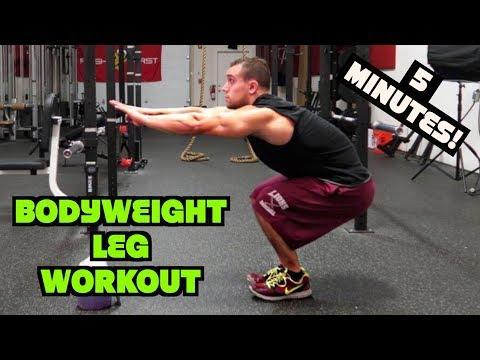 Intense 5 Minute At Home Leg Workout #2