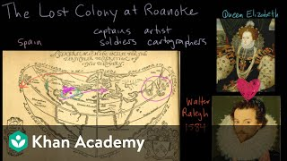 The Lost Colony of Roanoke - background and first attempts